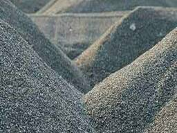 Песок речной щебень отсев фракций 5-10, 10-20, 20-40.