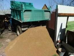 Песок, Щебень, Отсев, Шлак- Доставка 5-10 тонн