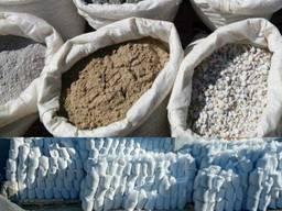 Песок Щебень Отсев Керамзит в мешках доставка