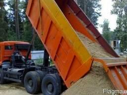 Песок строительный речной машинными нормами Днепропетровск