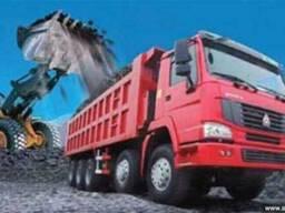 Песок строительный в ассортименте с доставкой в Одессе и обл