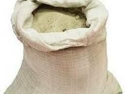 Песок в мешках, не сеяный (3 ведра - 40-50кг ) низкая цена!