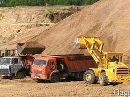 Песок желтый доставка Сумы область Суми Зил КАМаЗ цена
