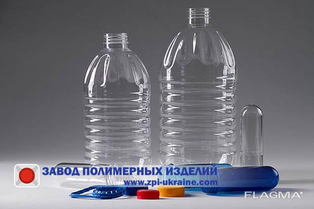 ПЭТ бутылка 3л. и 5 л.