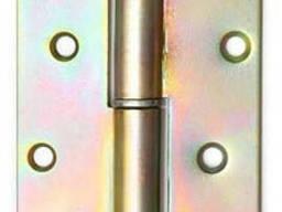 Петля оцинкованная h-70 круглая правая