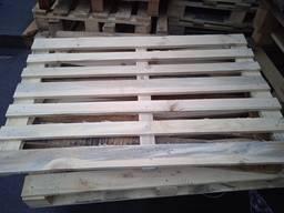 Піддон дерев'яний світлий вживаний з під сировини. Ціна 21 грн/штуку.
