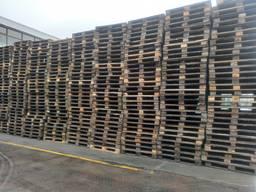 Піддон дерев'яний темний б / у розмір 1200 * 1000. Ціна за піддон 18 грн.