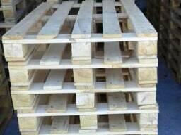 Поддон деревяный, Піддон полегшений 1200 х 800мм, Европоддон