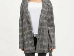 Пиджак женский 115R3041 цвет Серый