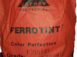 Пигмент железоокисный Cathay Ferrotint F 2080 Терракот Китай мешок 25 кг