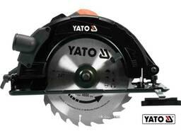 Пила дискова мережева YATO 2800 Вт диск 235 x 25. 4 x 3 мм 0-45° 85 мм