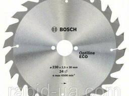 Пила дисковая по дереву Bosch 230x30x48z Optiline ECO