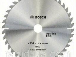 Пила дисковая по деревуBosch 254x30x80z Optiline ECO