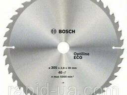 Пила дисковая по дереву Bosch 305x30x100z Optiline ECO