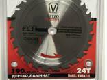 Пила дисковая Vatzo 254x30x40z по дереву и ламинату с. .. - фото 1
