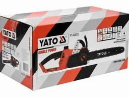 """Пила ланцюгова акумуляторна YATO 36 В (2 x Li-Ion 18 В) 14""""/35 см (БЕЗ Акумулятора)"""