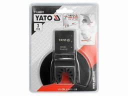 Пили-насадки для реноватора YATO 3 шт