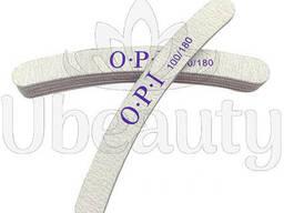Пилка OPI, Пилка ОПИ 180/100 на искусственный ноготь