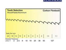 Пилы ленточные по дереву столярные 6х0,65 Flexback Carbon - фото 4