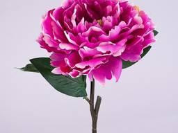 Пион открытый 43 см. фиолетовый Цветы искусственные