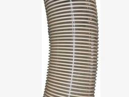 Pipe (Hose, sleeve) PU HDS Vulkano, reinforced, d:125, Length: 6m, polyurethane