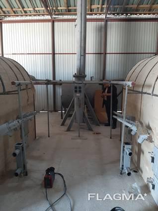 Пиролизная установка переработка шин и РТИ