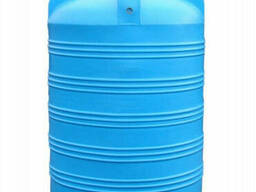 Пищевая бочка пластиковая для воды V-1500
