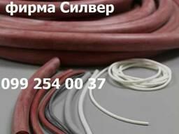Шнуры из пористого силикона 6мм, 8мм, 10мм, 12мм, 15мм, 20мм