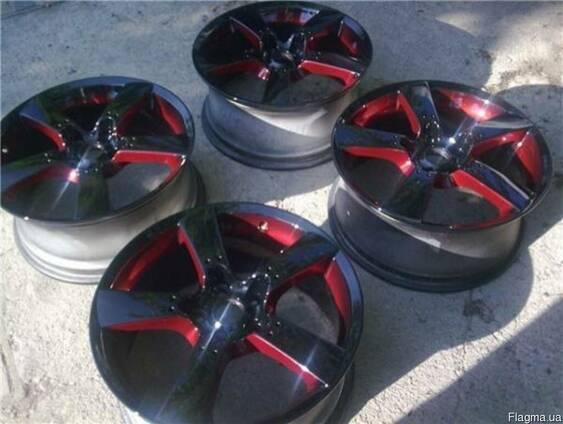 Піскоструй та порошкове фарбування автомобільних дисків
