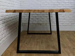 """Письменный стол """"ANA"""" из массива дерева в стиле loft"""