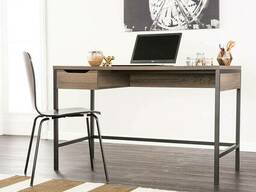 """Письменный стол """"Майкон"""" из массива дерева в стиле loft"""