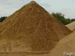 Пісок будівельний з доставкою самосвалами. ..