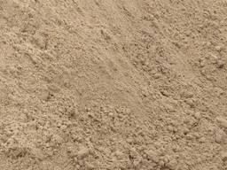 Пісок річний, пісок карєрний, пісок овражний