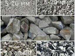 Пісок, відсів, щебінь, бутовий камінь, ґрунт, дрова. .. - фото 2