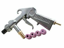 Пистолет пескоструйный Boro (с розовыми соплами).