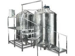 Пивзавод, мини-пивоварня, пивоварня 2000л