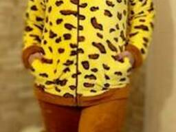 Пижама махровая женская с капюшоном 44-50р , доставка по. ..