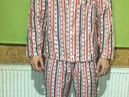 Пижама с брюками 100% Хлопок Полоса