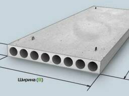 Плита перекрытия ПК72-12-8 разм.7280х1190х220