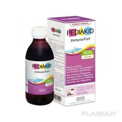 PK25 Pediakid 250 - педиакид Сироп для носа и горла: снятие воспаления и комфорт. ..