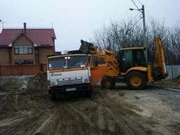 Планировка территорий земли участка Расчистка под. строитель