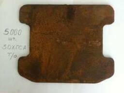 Планка стопорная(фрикционная)6мм, 16 мм