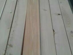 Планкен косой Лиственница сибирская, ромбус, фасадная доска планкен скошенный 20х90