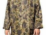Плащ ПВХ камуфлированный с капюшоном, мужской, женский - фото 1