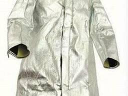 Плащ защитный из алюминизированного материала Кевлар
