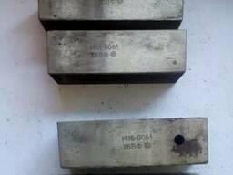 Плашка плоская резьбонакатная, М 2,5х0,45, 85(78)х25х25 мм,
