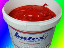 Пластезольная краска DARK RED красный, кармен