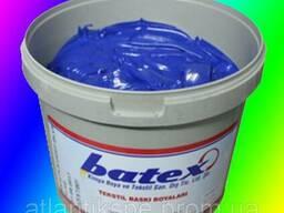 Пластезольная краска DEEP BLUE ультрамарин, електрик