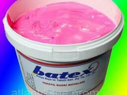Пластезольная краска Fluorescent PINK розовый