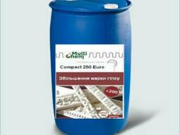 Пластификатор для увеличения марки гипса Compact 250 Eurо, бочка 200 л